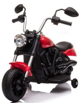 Elektrická motorka Chopper V-Max červená